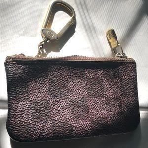Vintage Louis Vuitton Damier Cles key coin purse